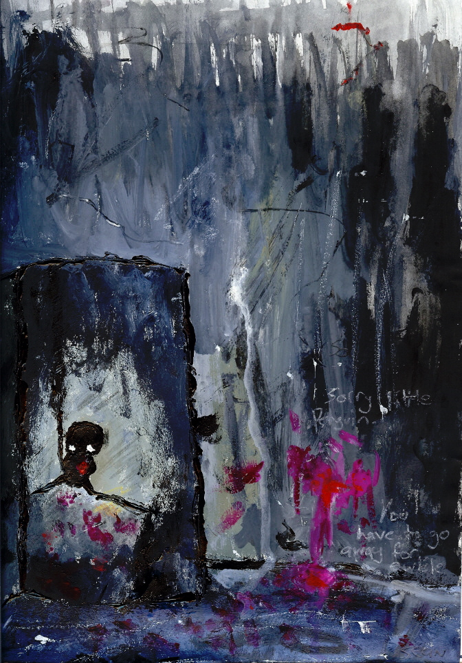 Sorry Little Penguin by Caliginous-sk