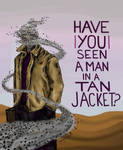 Have YOU Seen a Man in a Tan Jacket?