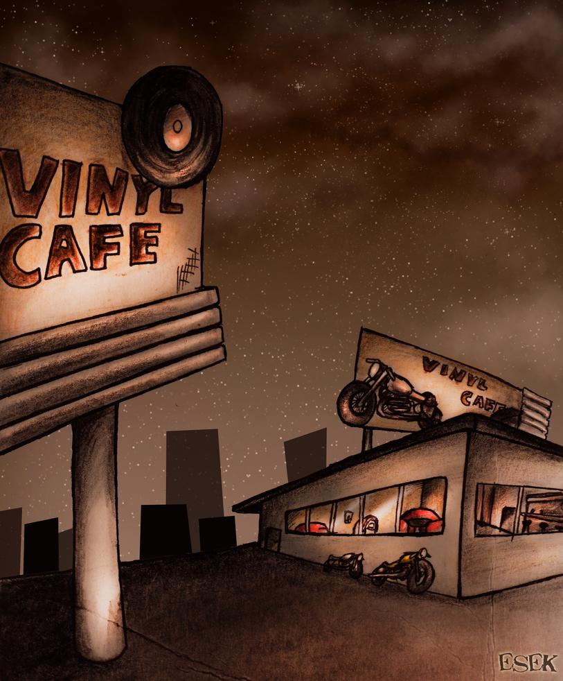 Cafe by EsekBazgroli