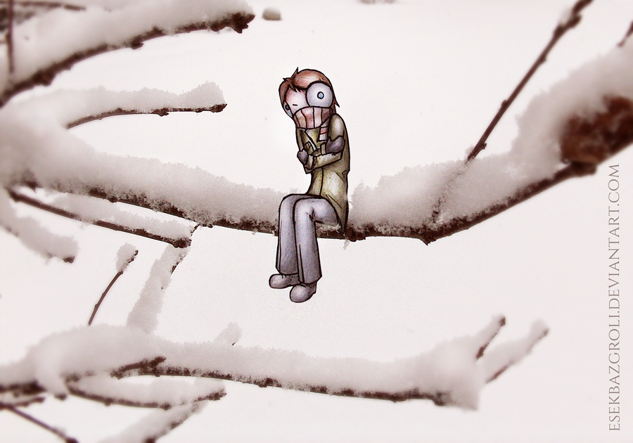 So cold... by EsekBazgroli