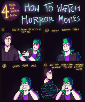 How to watch horror movies