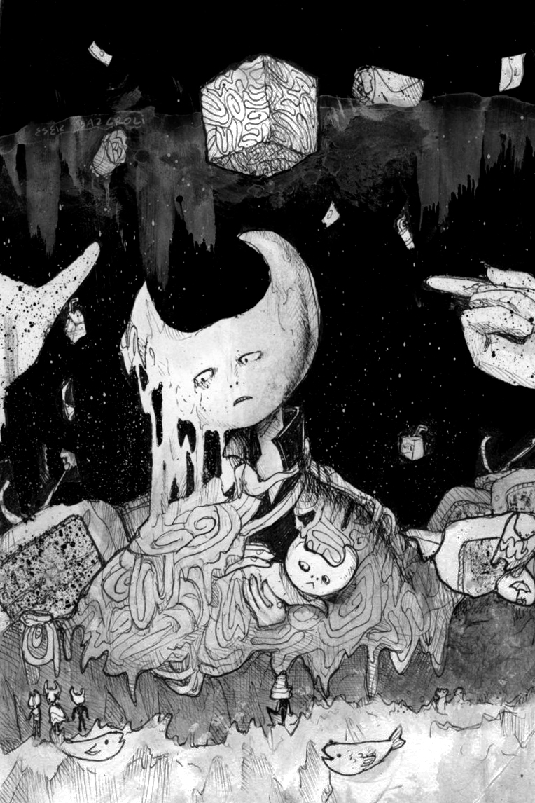 BELOW THE HOPE OUTSIDE THE PAIN by EsekBazgroli