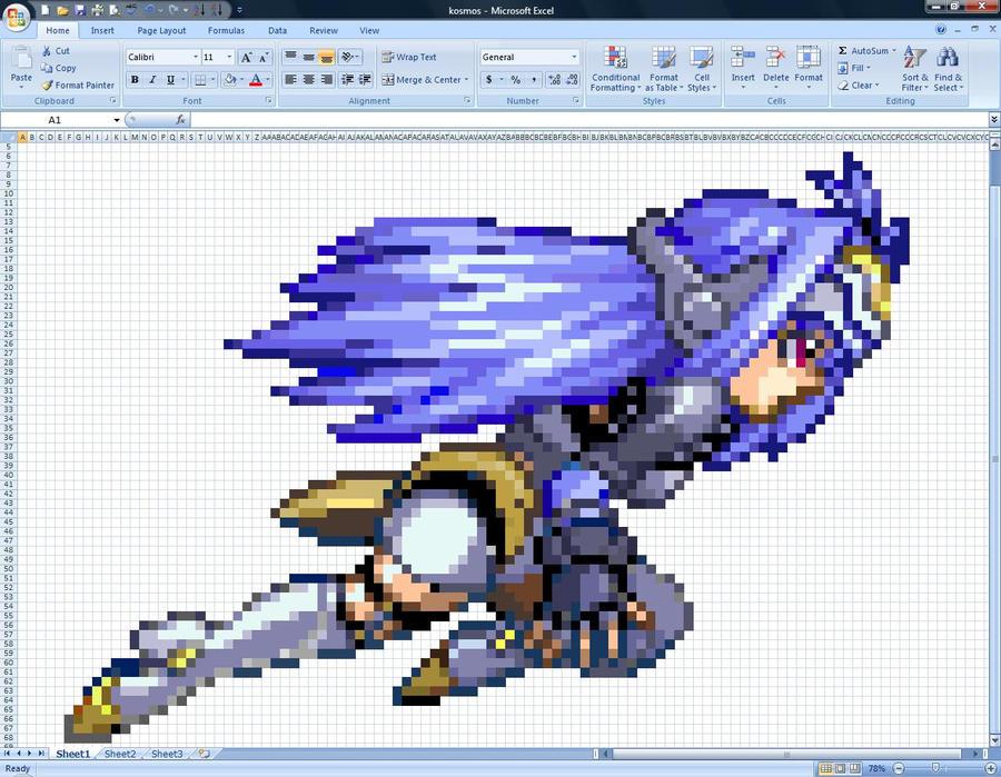 Excel Kos-Mos by Klunker-Decepticon