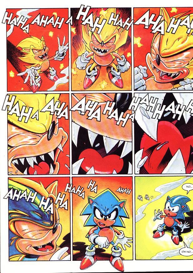 Evil Super Sonic 2 By Super Fan Club On Deviantart