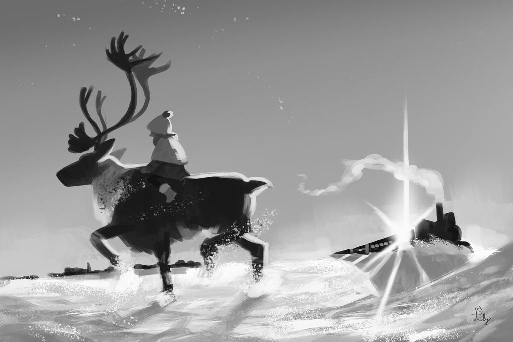 Dashing Through The Snow by Lilybyte