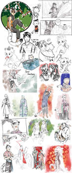 SS: Sketchdump 1