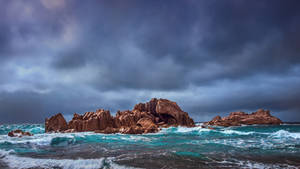 rocks of La Digue by fly10