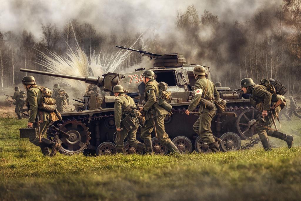 Soldaten und PzKwIII by fly10