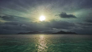 Sunset on La Digue by fly10