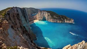 Shipwreck Bay - Navagio, Zakynthos by fly10