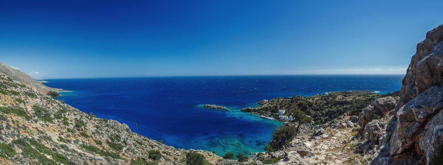 Greece, Crete, Loutro by fly10