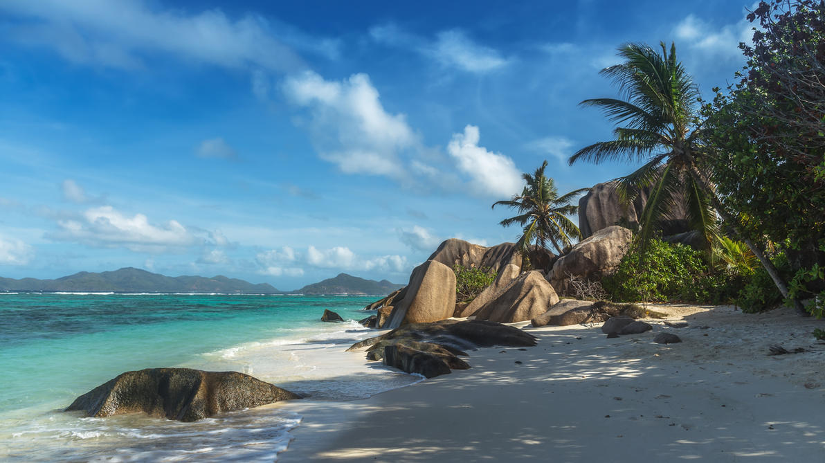 Seychelles La Digue by fly10