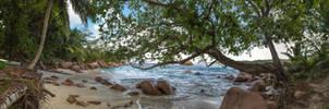 Seychelles, Praslin, Anse Lazio by fly10