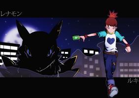 Ruki and Renamon