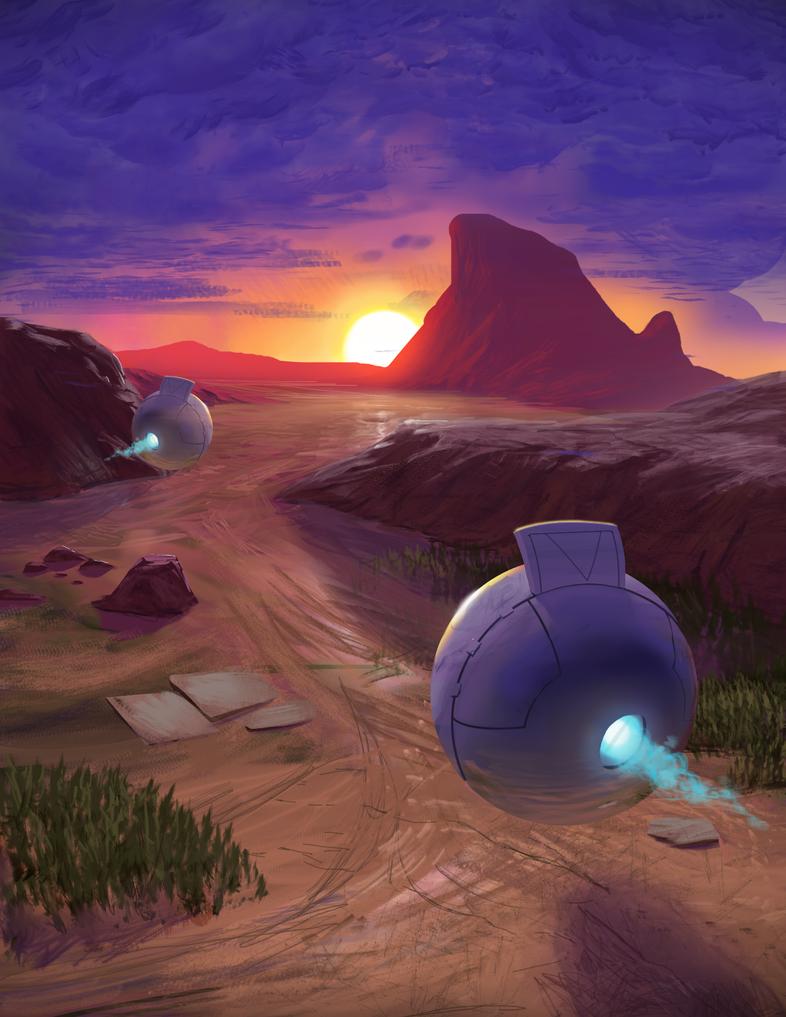 Desert Sunset by theBen93