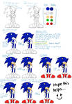 Drawing Sonic .:Part 3 Coloring:.