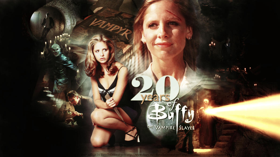 20 years of Buffy the Vampire Slayer by RevelloDrive1630