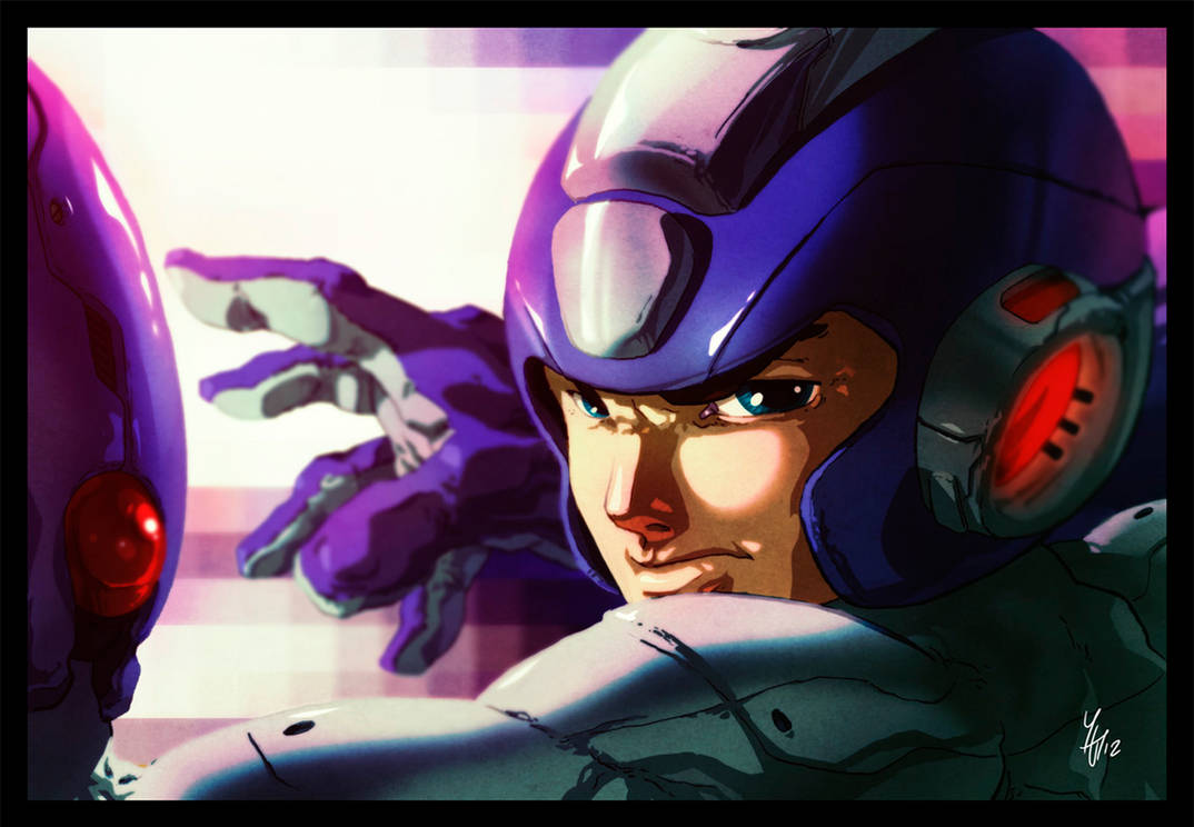 Megaman by Yaguete