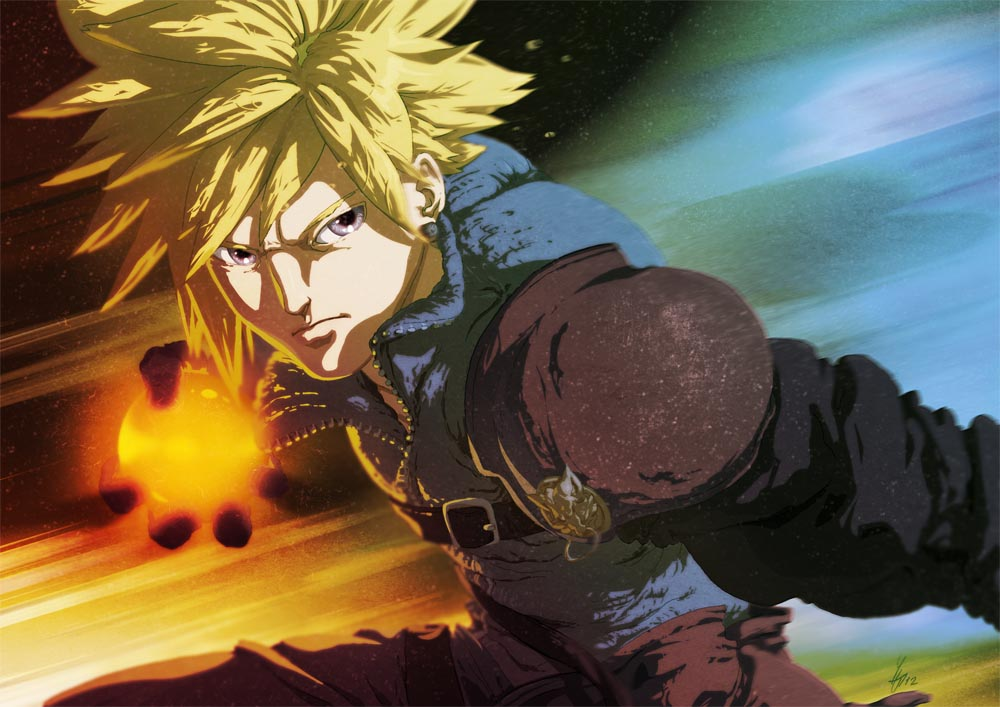 Cloud Strife by Yaguete