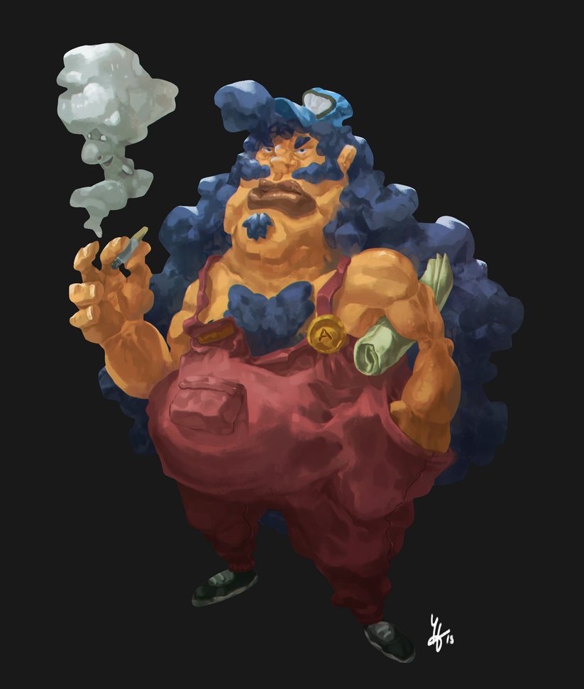 Otto, the sexy plumber by Yaguete