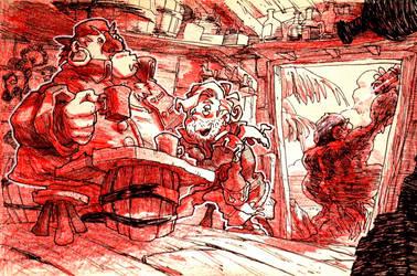Inktober: Day30 - Monkey Island 2 by Yaguete