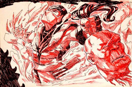 Inktober: Day 31 - Mortal Kombat