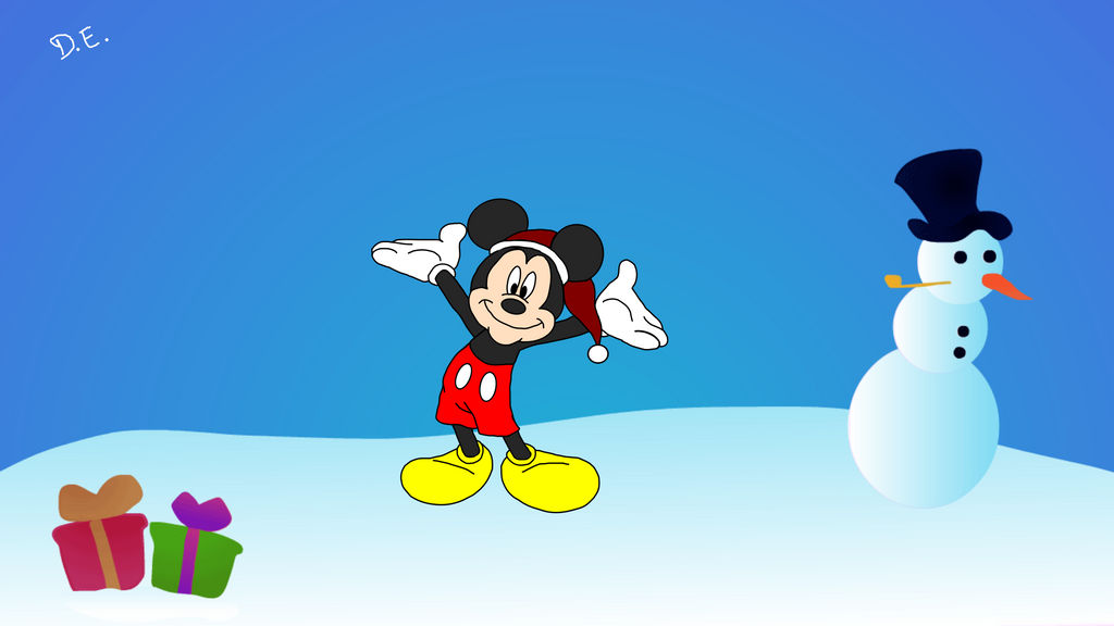 mickey mouse christmas wallpaper by daniel411491 dcrsx1r