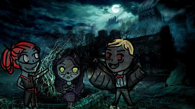 Never's Brotp on a hallow's eve mission! by katlyn-anne