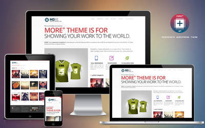 More+ Responsive Wordpress Theme