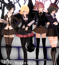 MMD Diabolik Lovers: The Vocaloid Mukamis DL