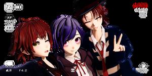 MMD Diabolik Lovers Sakamaki Trio