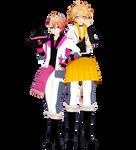 MMD Maji Love 1000% Syo and Natsuki