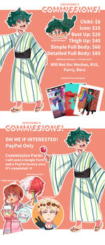 Opening Art Commissions!