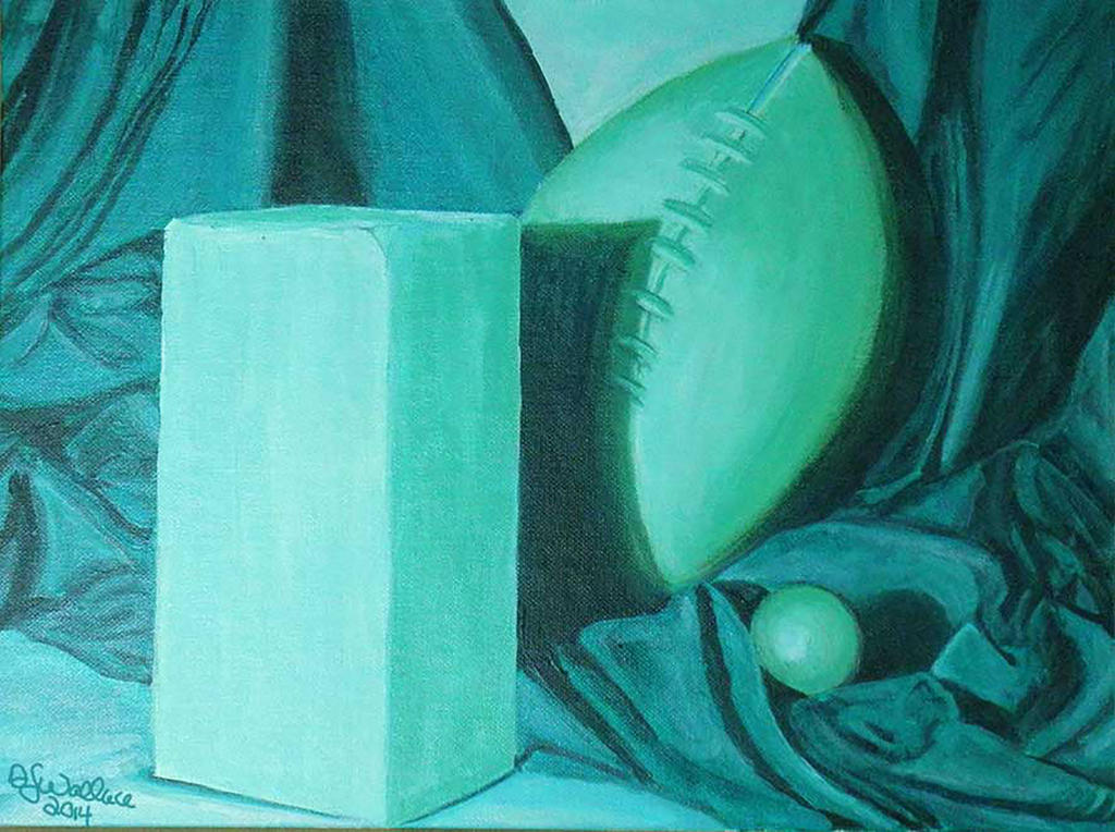 Wallace Monochromatic Color Still Life By Arialessa