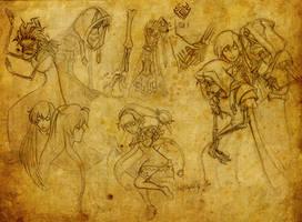 Undead Priest n Warlock: MnM by Anamaris