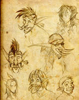 Trolls, Orcs and Draenei's by Anamaris