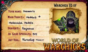 World of Warchicks ID by Anamaris