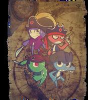 Pirate Maps by Anamaris