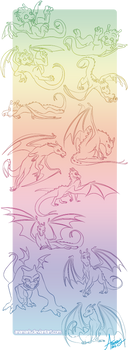 Pern Dragons by Anamaris