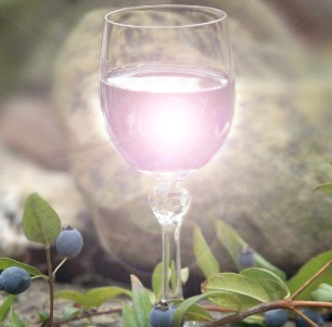 Light in the glass by HappyFelice