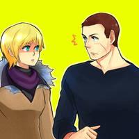 RE6- Sherry and Jake by zamzaam