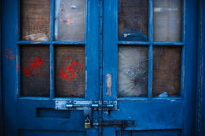 Blue Door by cainadamsson