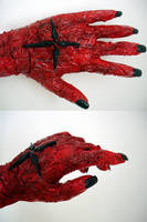 D.Gray - mutated hand progress by kitsunesqueak
