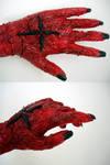 D.Gray - mutated hand progress