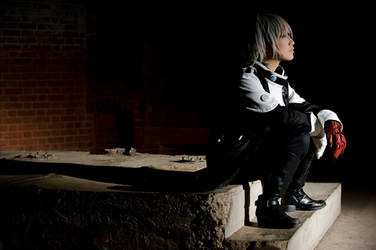 D.Gray - Innocent Sorrow by kitsunesqueak