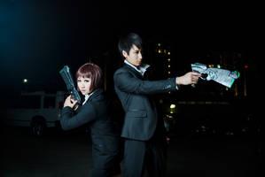 Psycho Pass - 02 by kitsunesqueak