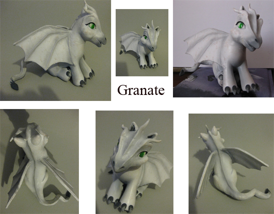 Ruth the dragon by granatesirope
