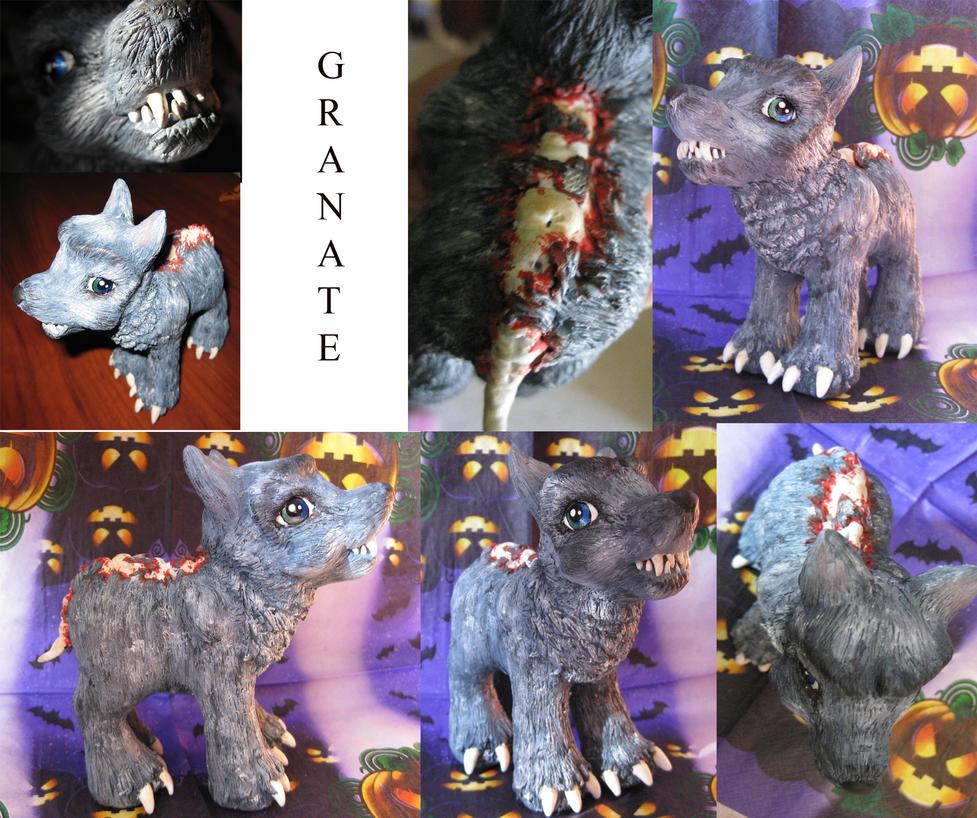 Hombre lobo by granatesirope