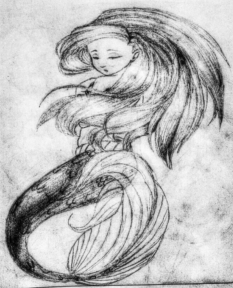 Ariel la Sirenita by MonicaShadowXD