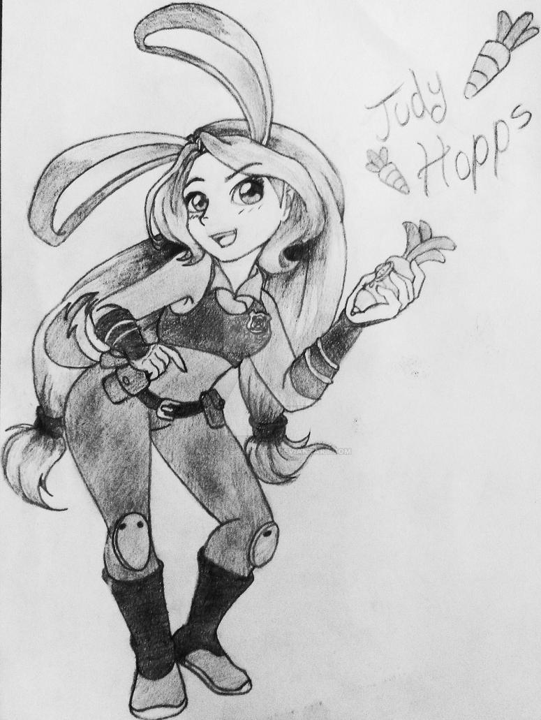 Judy Hopps by MonicaShadowXD
